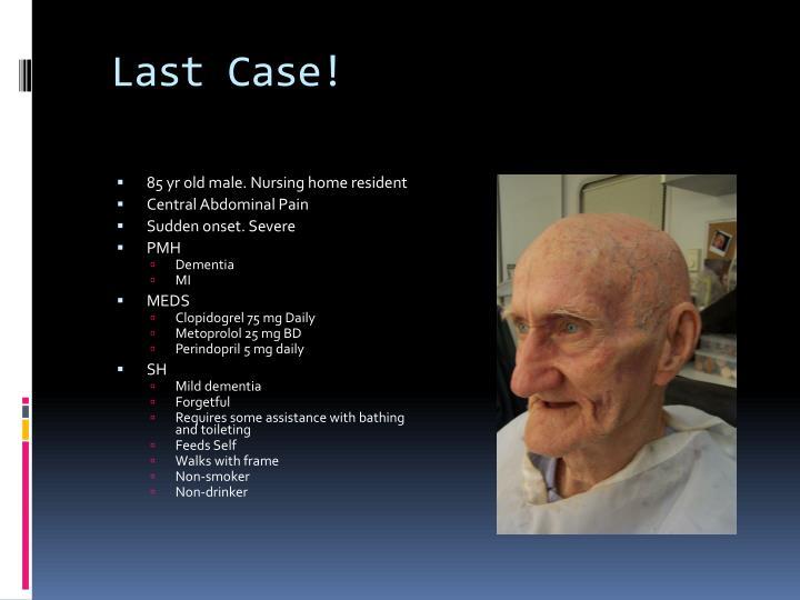 Last Case!