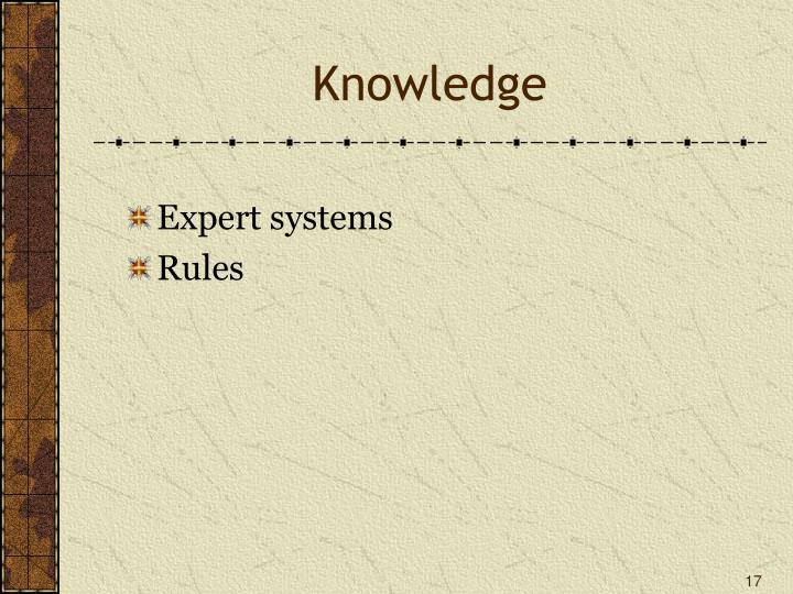 Knowledge