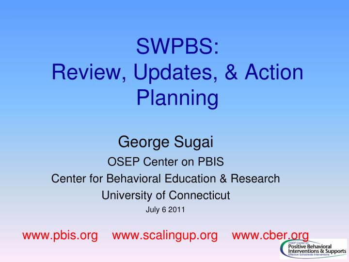 Swpbs review updates action planning