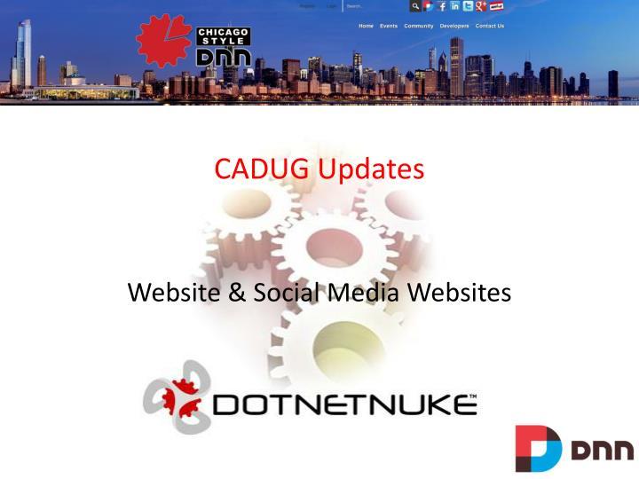 CADUG Updates