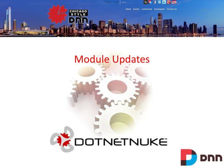 Module Updates