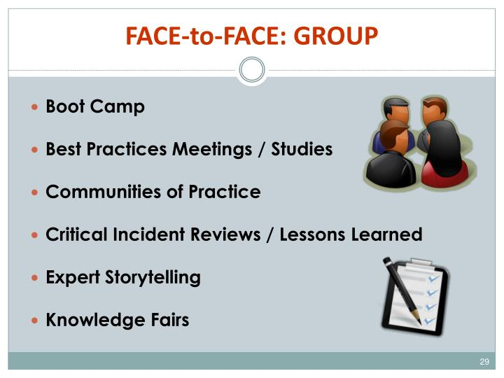FACE-to-FACE: GROUP