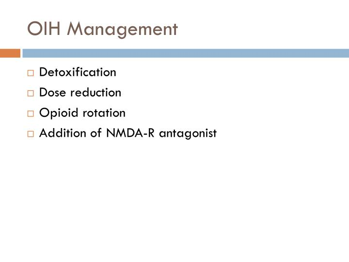OIH Management
