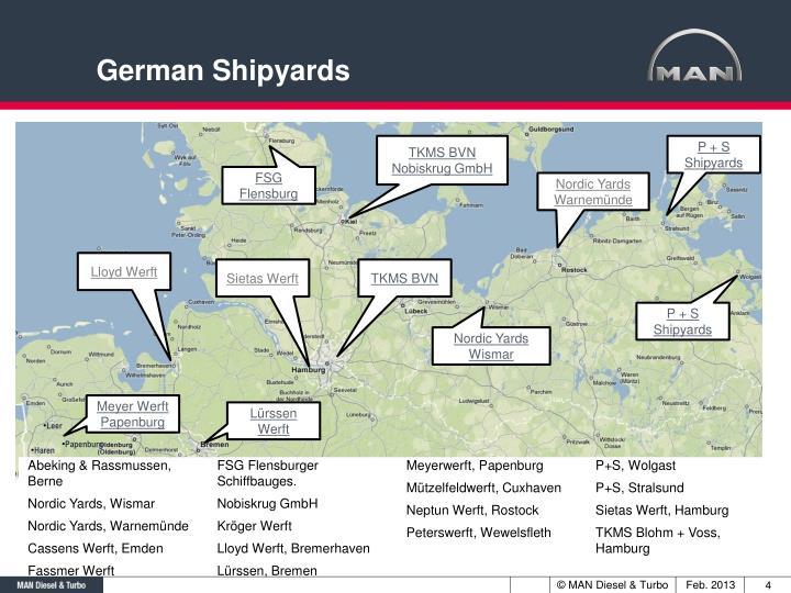 German Shipyards