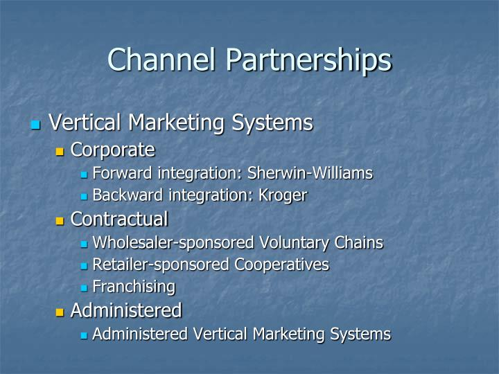 Channel Partnerships