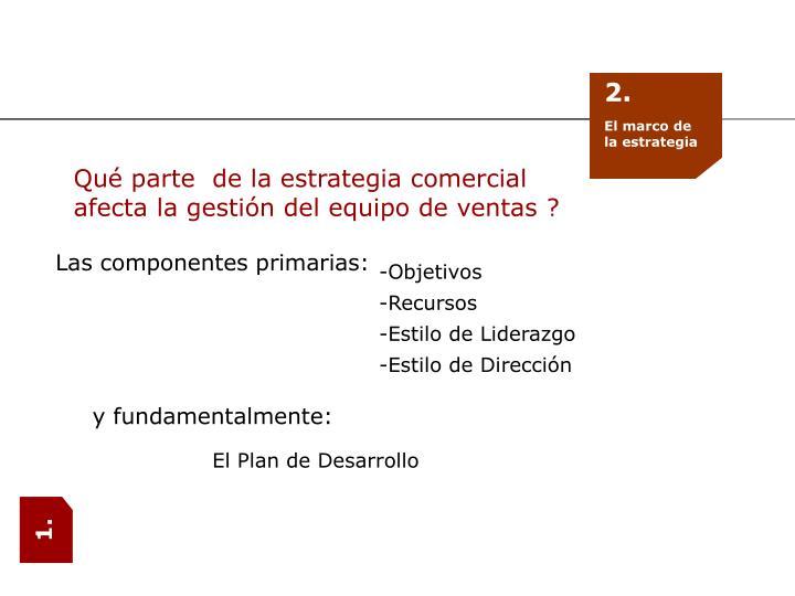 Las componentes pri