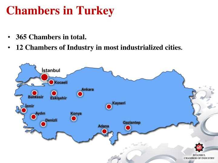 Chambers in turkey