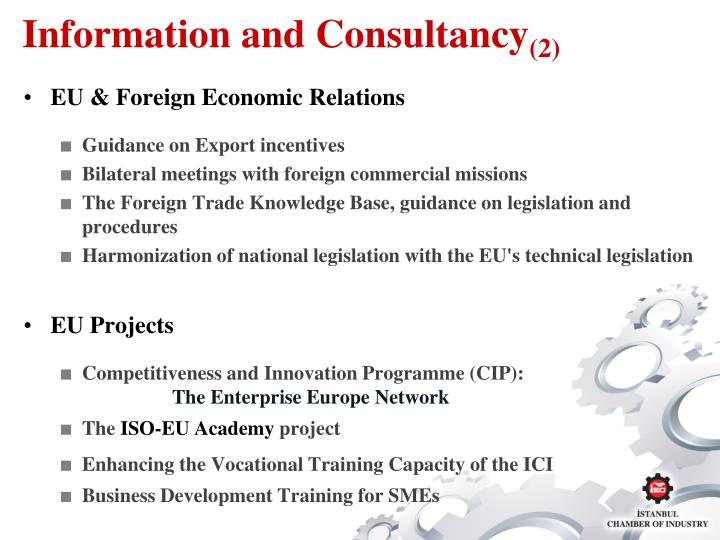 Information and Consultancy