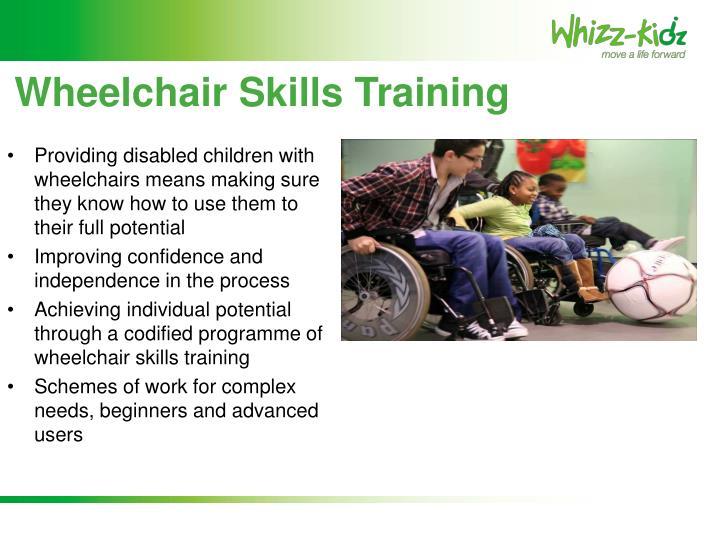 Wheelchair Skills Training