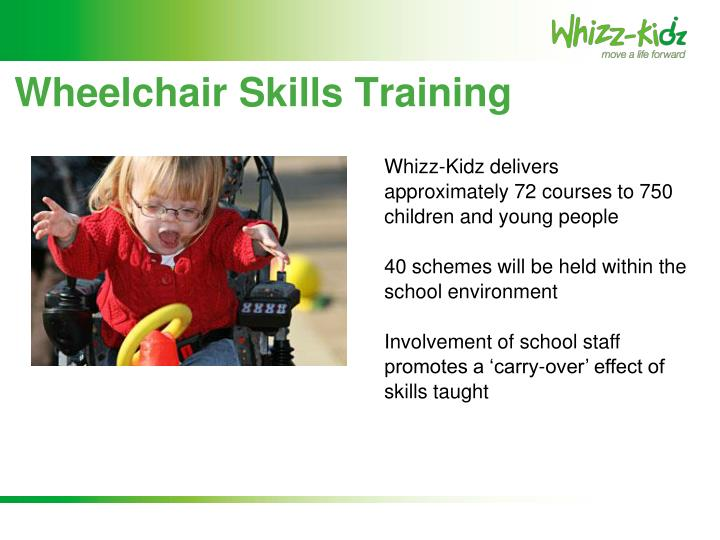 Wheelchair Skills Training