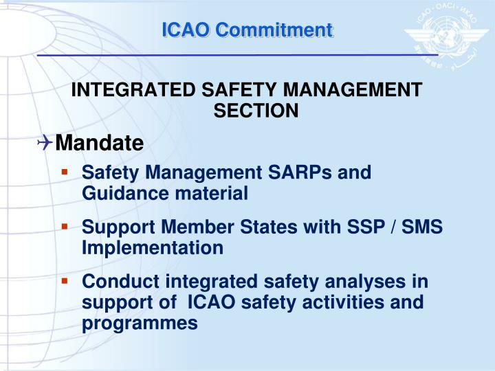 Icao commitment