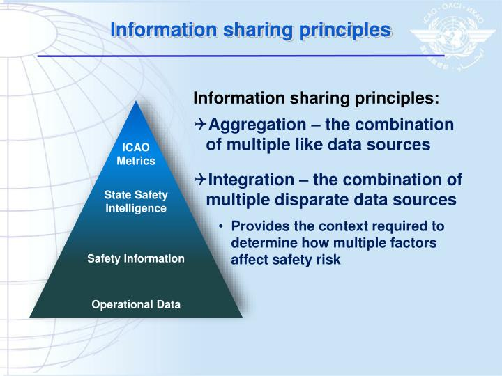 Information sharing principles