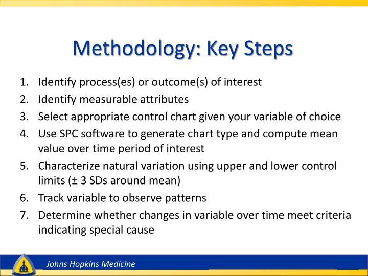 Methodology: Key Steps