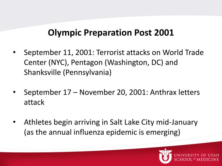 Olympic Preparation Post