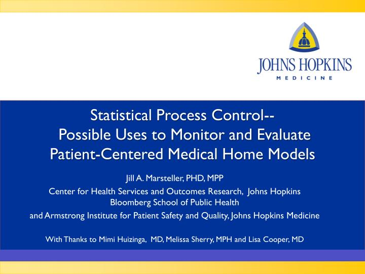 Statistical Process Control--