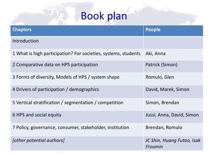 Book plan