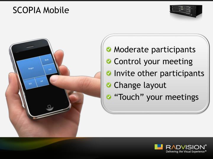 SCOPIA Mobile