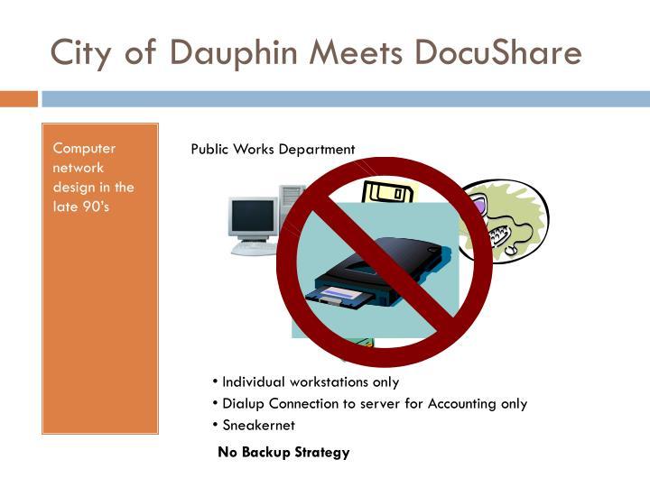 City of Dauphin Meets DocuShare
