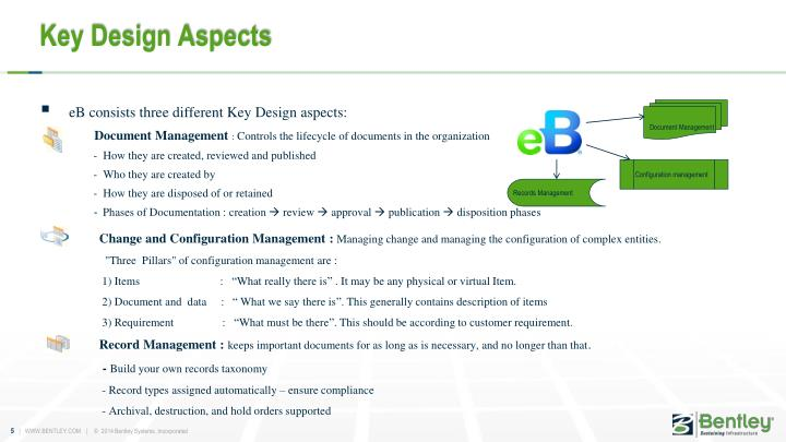 Key Design Aspects