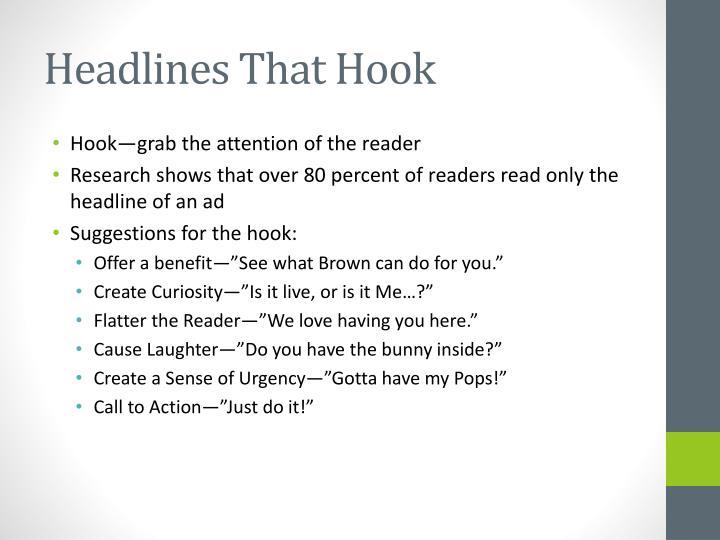 Headlines That Hook