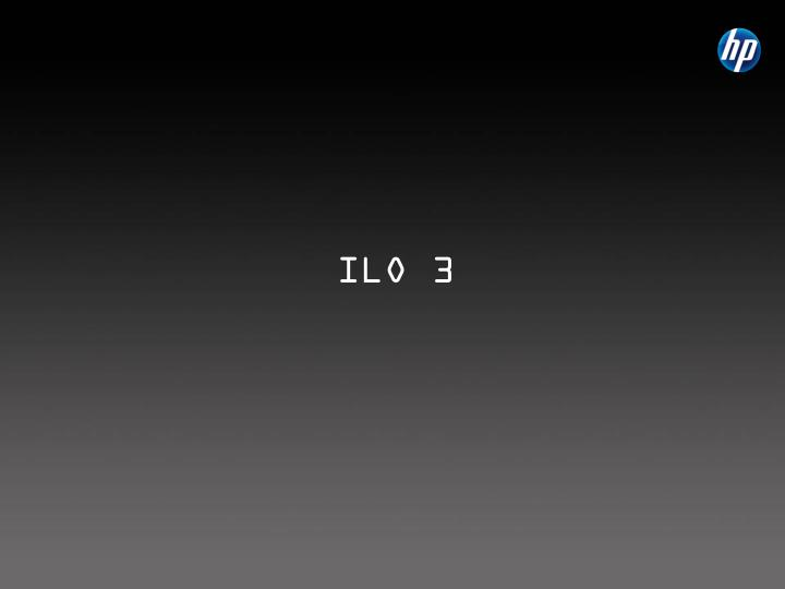 ILO 3