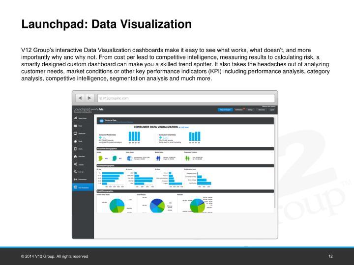 Launchpad: Data Visualization