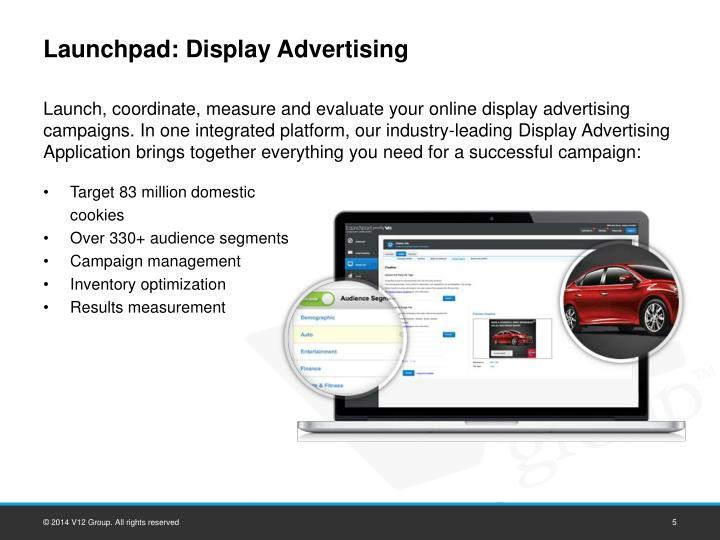 Launchpad: Display Advertising