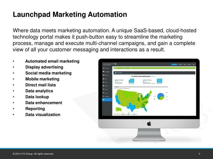 Launchpad Marketing Automation
