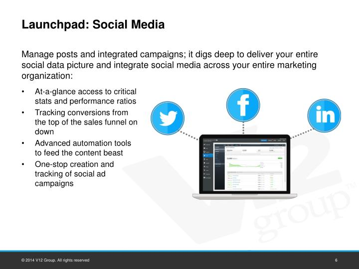Launchpad: Social Media