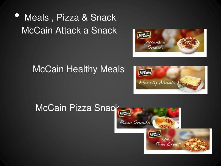 Meals , Pizza & Snack