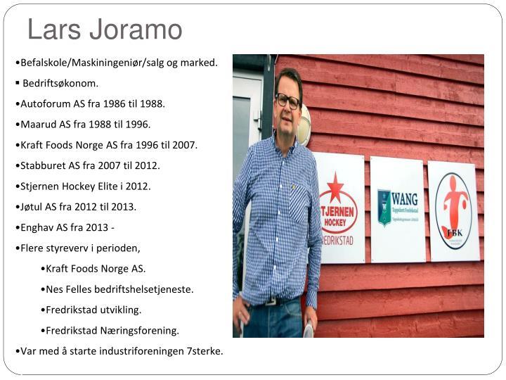 Lars Joramo