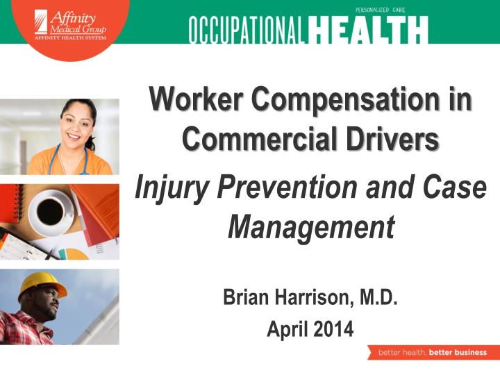 Worker Compensation in Commercial Drivers