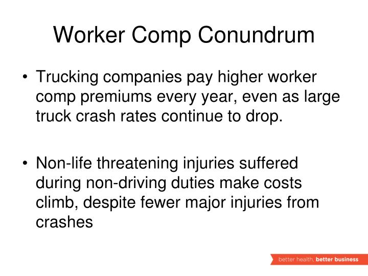 Worker Comp Conundrum