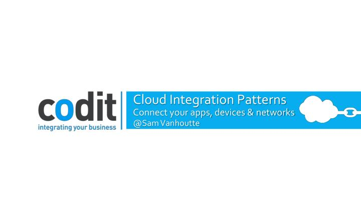 cloud integration patterns