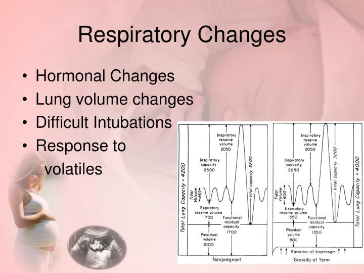 Respiratory Changes