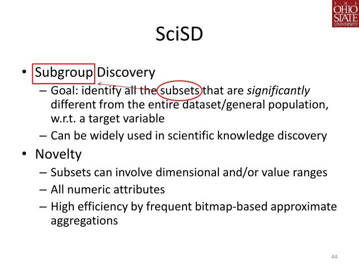 SciSD