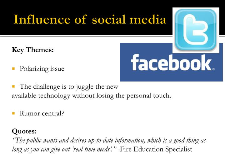 Influence of social