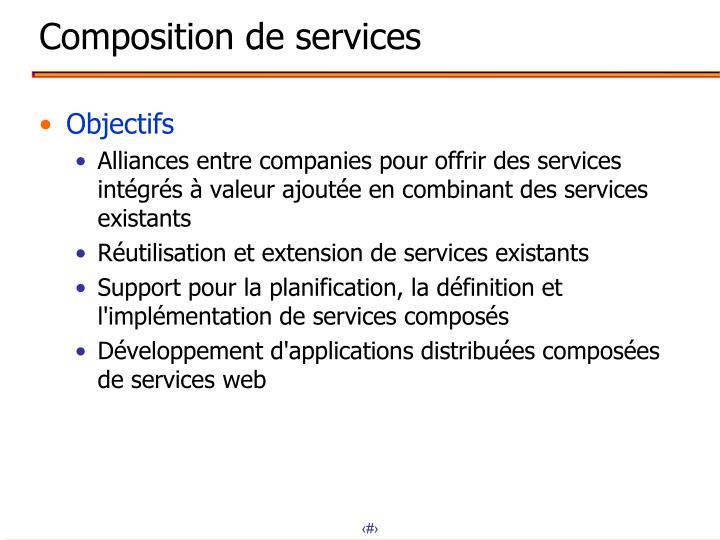 Composition de services