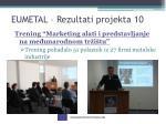 eumetal rezultati projekta 10