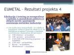 eumetal rezultati projekta 4