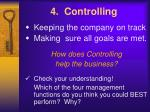 4 controlling