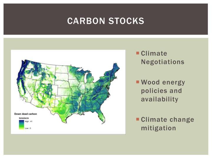 Carbon Stocks