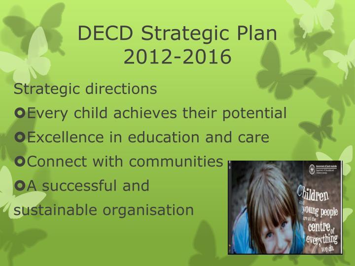 DECD Strategic Plan
