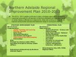 northern adelaide regional improvement plan 2010 2013