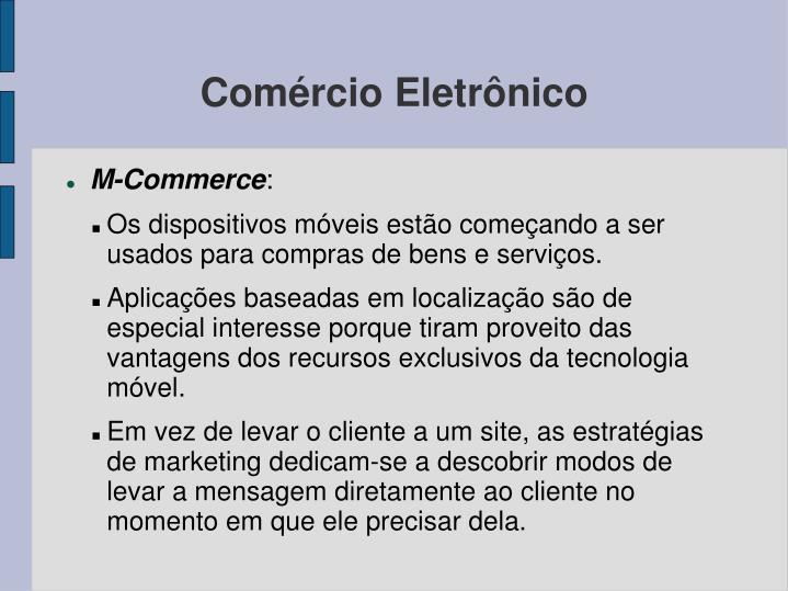 Comércio Eletrônico