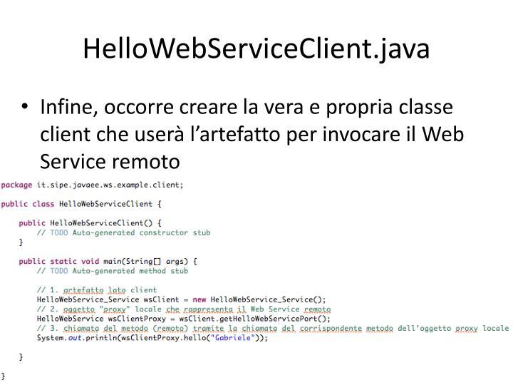 HelloWebServiceClient.java