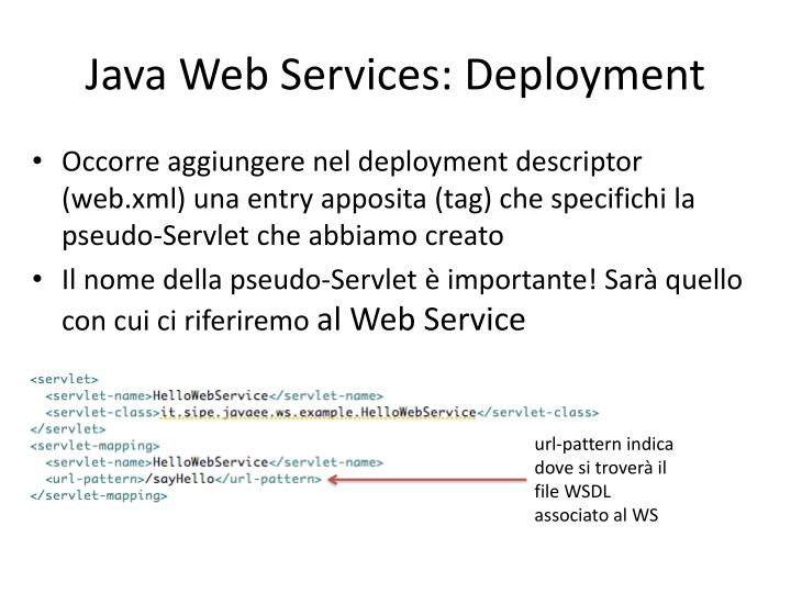 Java Web Services: Deployment