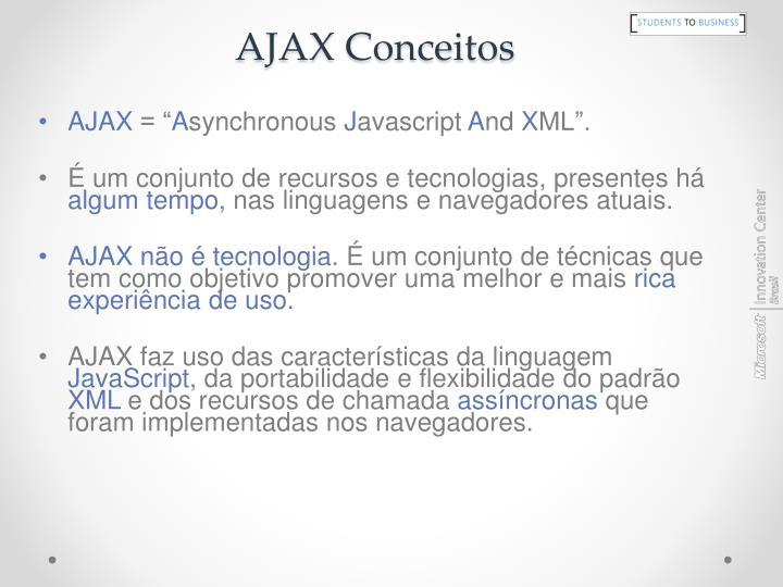 AJAX Conceitos