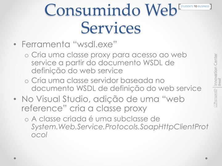 Consumindo Web