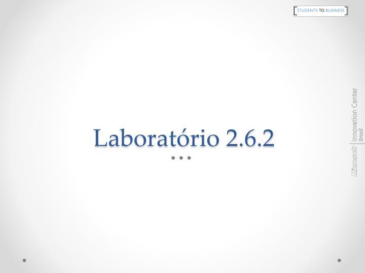 Laboratório 2.6.2